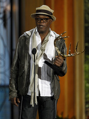 Samuel L. Jackson en la gala de los 'Spike TV's Guys Choice Awards'