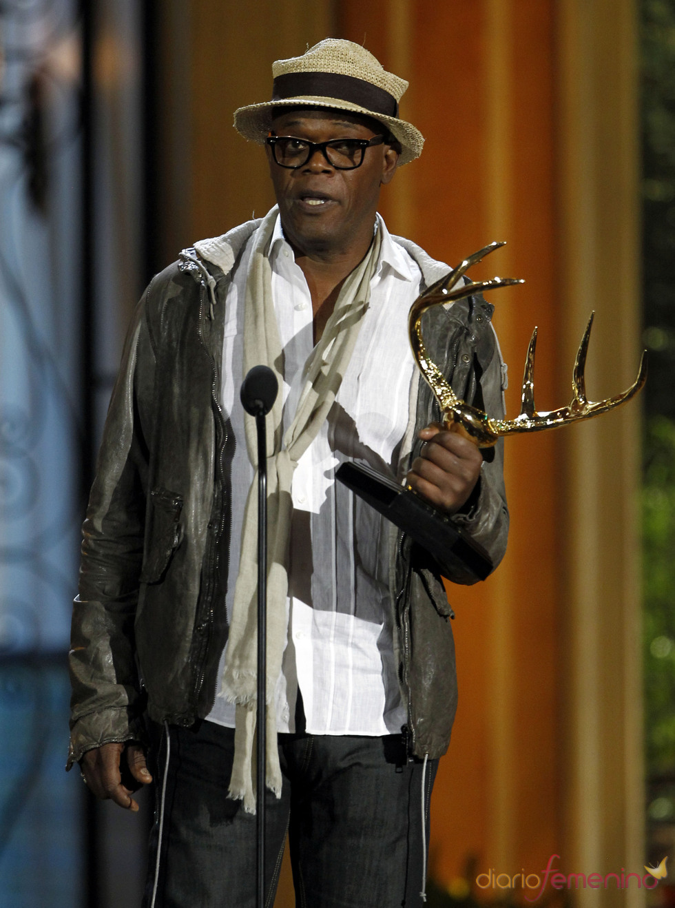 Samuel L. Jackson en la gala de los 'Spike TV's Guys Choice Awards'