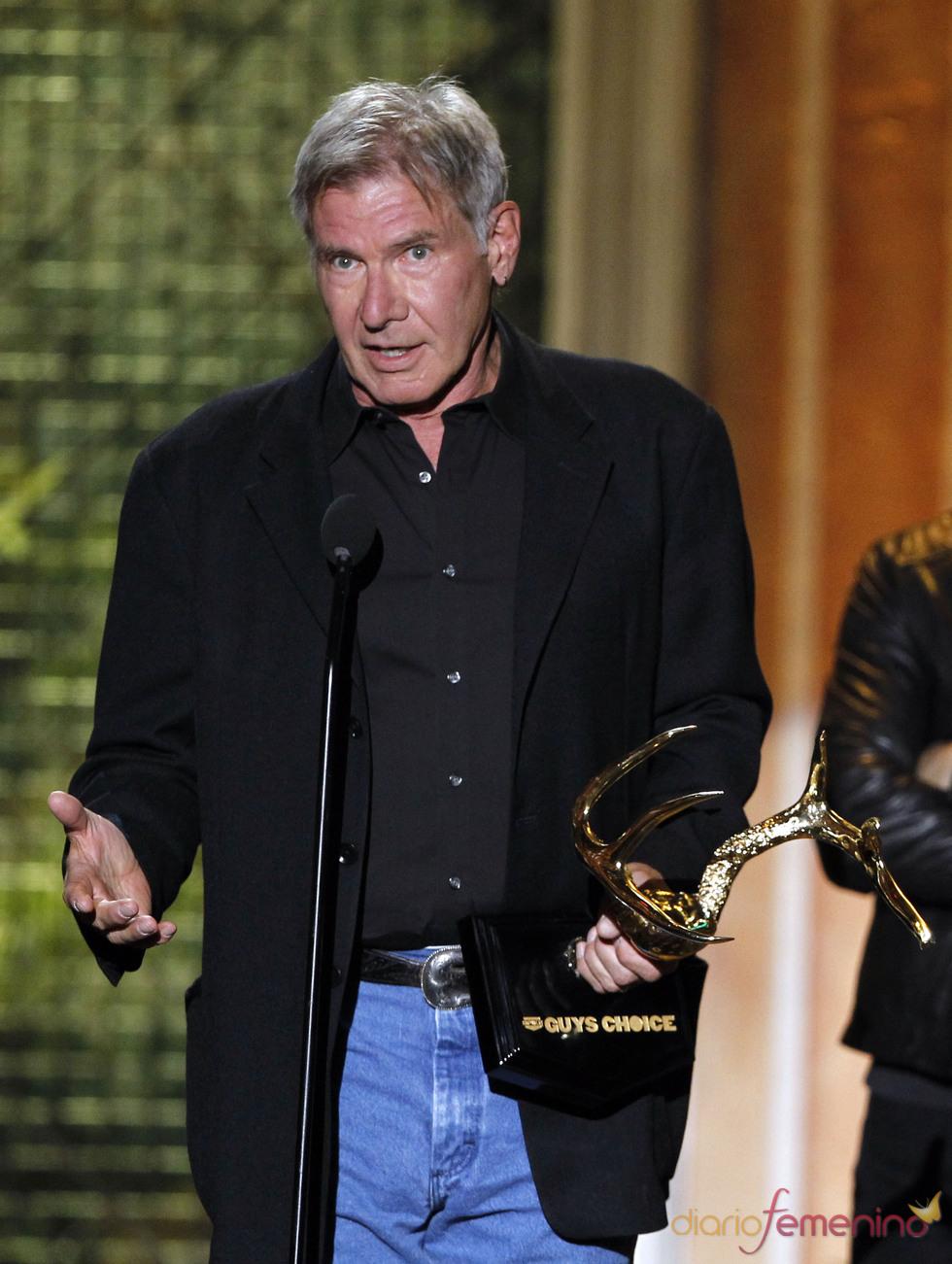 Harrison Ford en la gala de los 'Spike TV's Guys Choice Awards'