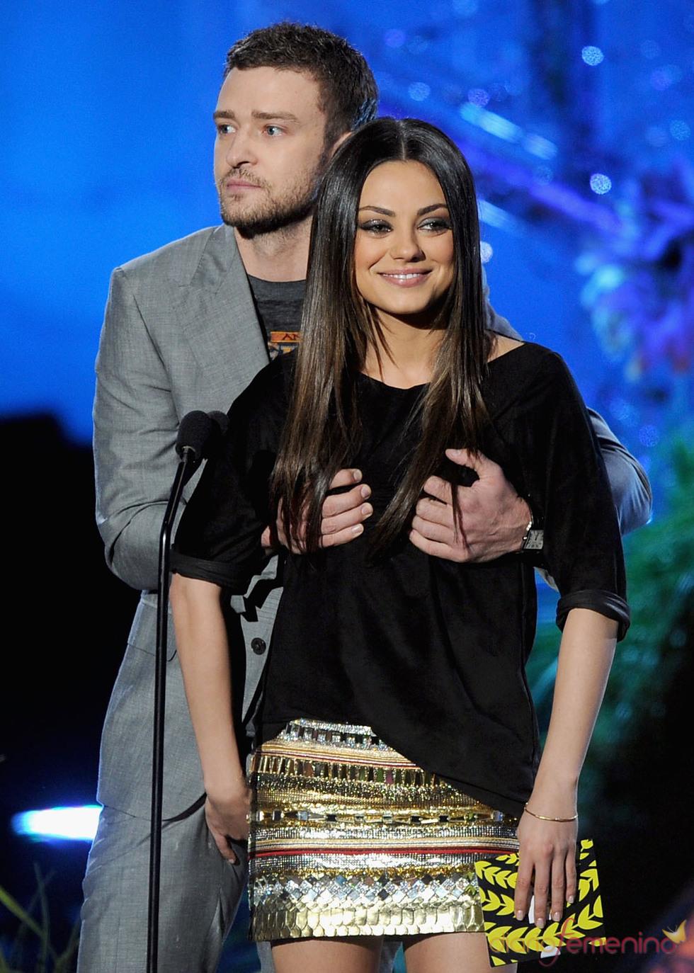 Justin Timberlake y Mila Kunis, definitivamente, amigos