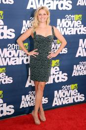 Reese Witherspoon a su llegada a los premios MTV Movie Awards 2011