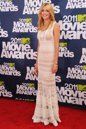 Katie Cassidy a su llegada a los premios MTV Movie Awards 2011
