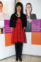 Irene Villa, comprometida con el empleo