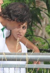 Rafa Nadal celebra su triunfo con su novia Xisca Perello en Disneyland Paris