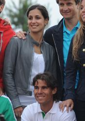 Rafa Nadal y Xisca Perello disfrutan juntos del triunfo en Roland Garros