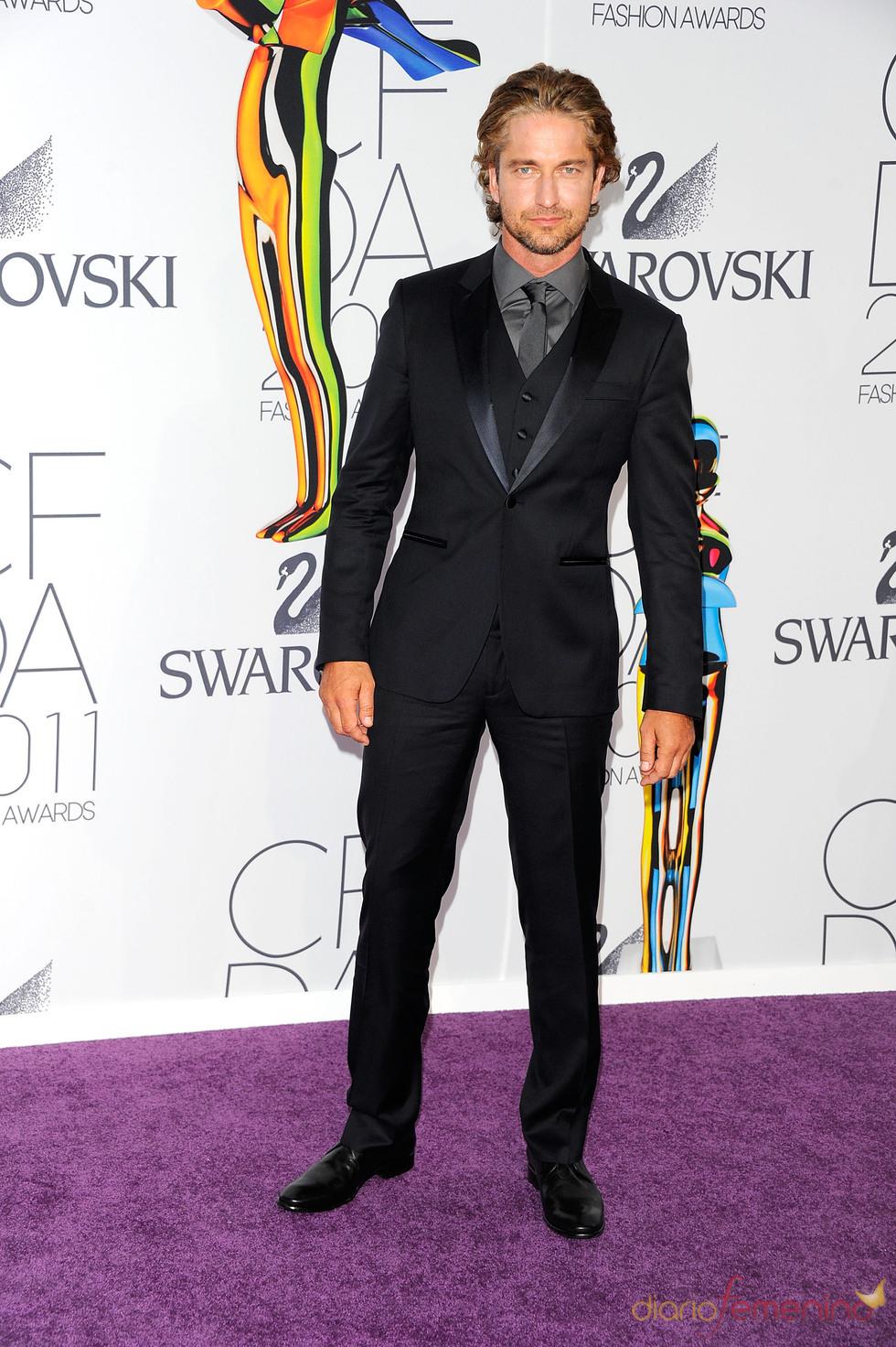 Gerard Butler en los Premios de Moda CFDA 2011