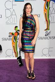 Liv Tyler en los Premios de Moda CFDA 2011