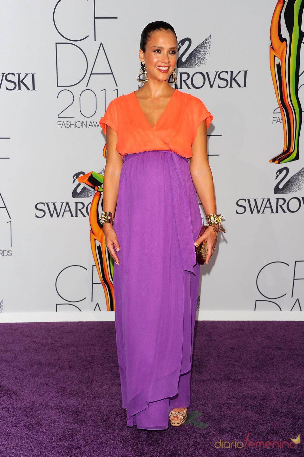 Jessica Alba en los Premios de Moda CFDA 2011