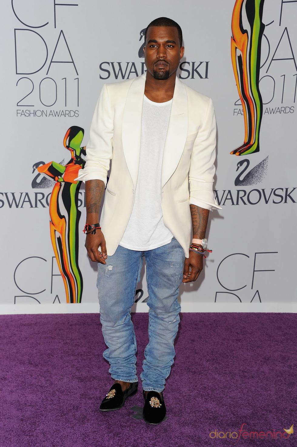 Kanye West en los Premios de Moda CFDA 2011