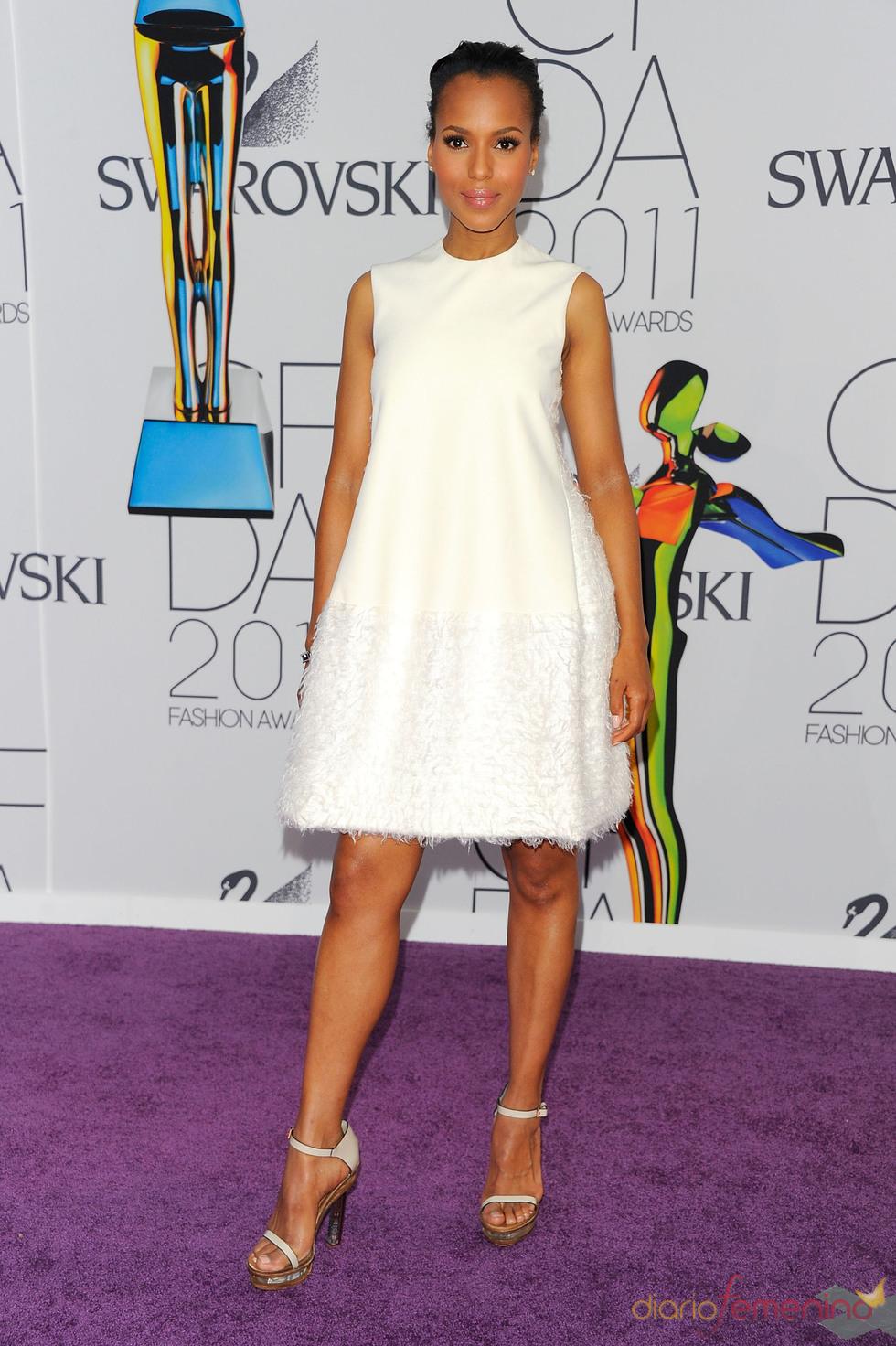 Kerry Washington en los Premios de Moda CFDA 2011