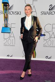 Kirsten Dunst en los Premios de Moda CFDA 2011