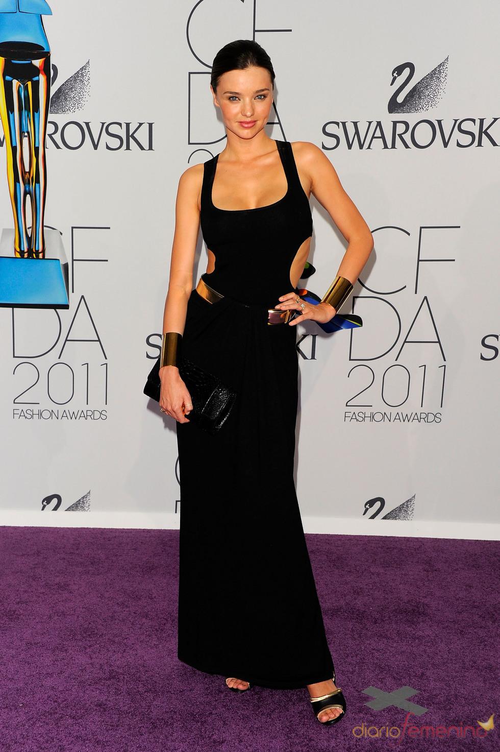 Miranda Kerr en los Premios de Moda CFDA 2011