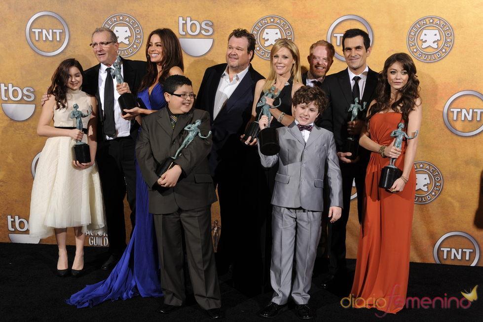 El cast de 'Modern Family' en los premios SAG