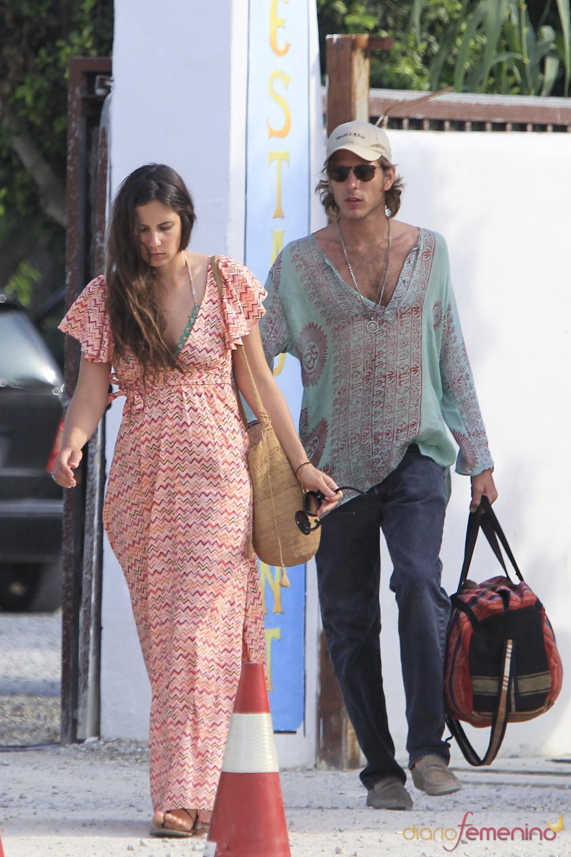 Andrea Casiraghi, su novia Tatiana y sus amigos, celebran su cumpleaños en Ibiza