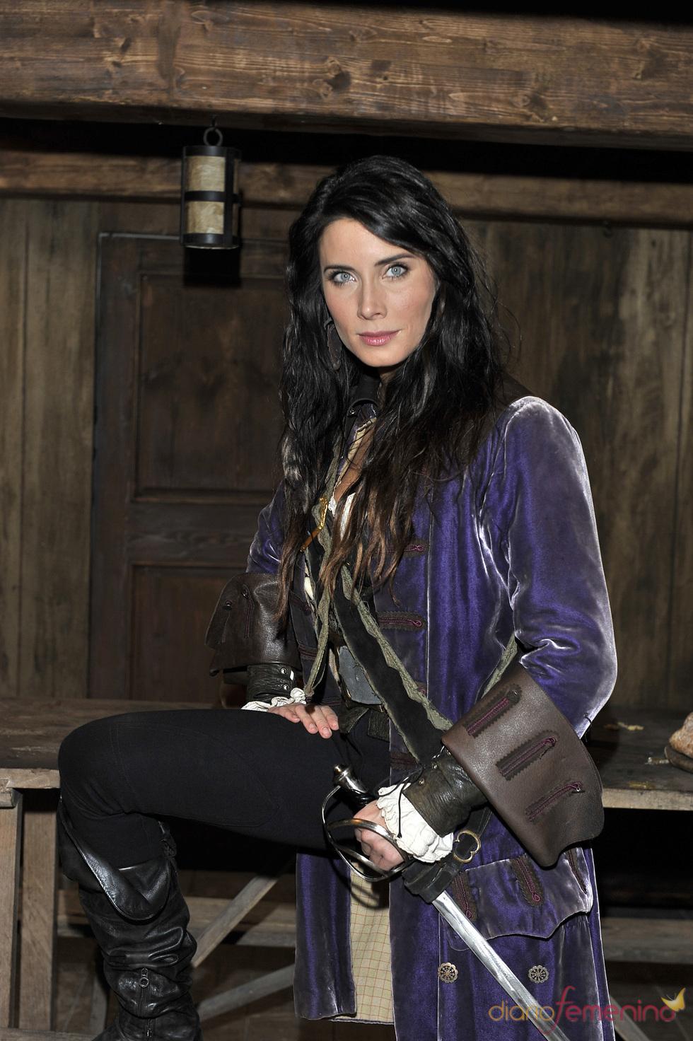 Pilar Rubio es una de las protagonistas de 'Piratas'