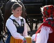 Victoria de Suecia en el Día Nacional de Suecia