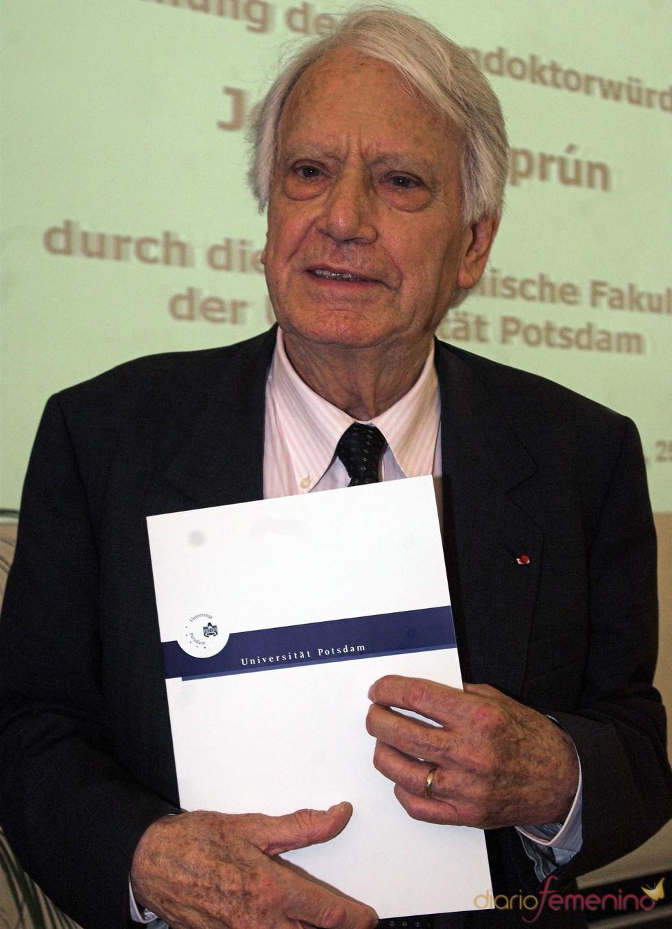 Muere Jorge Semprún, exministro español de Cultura, en su domicilio de París