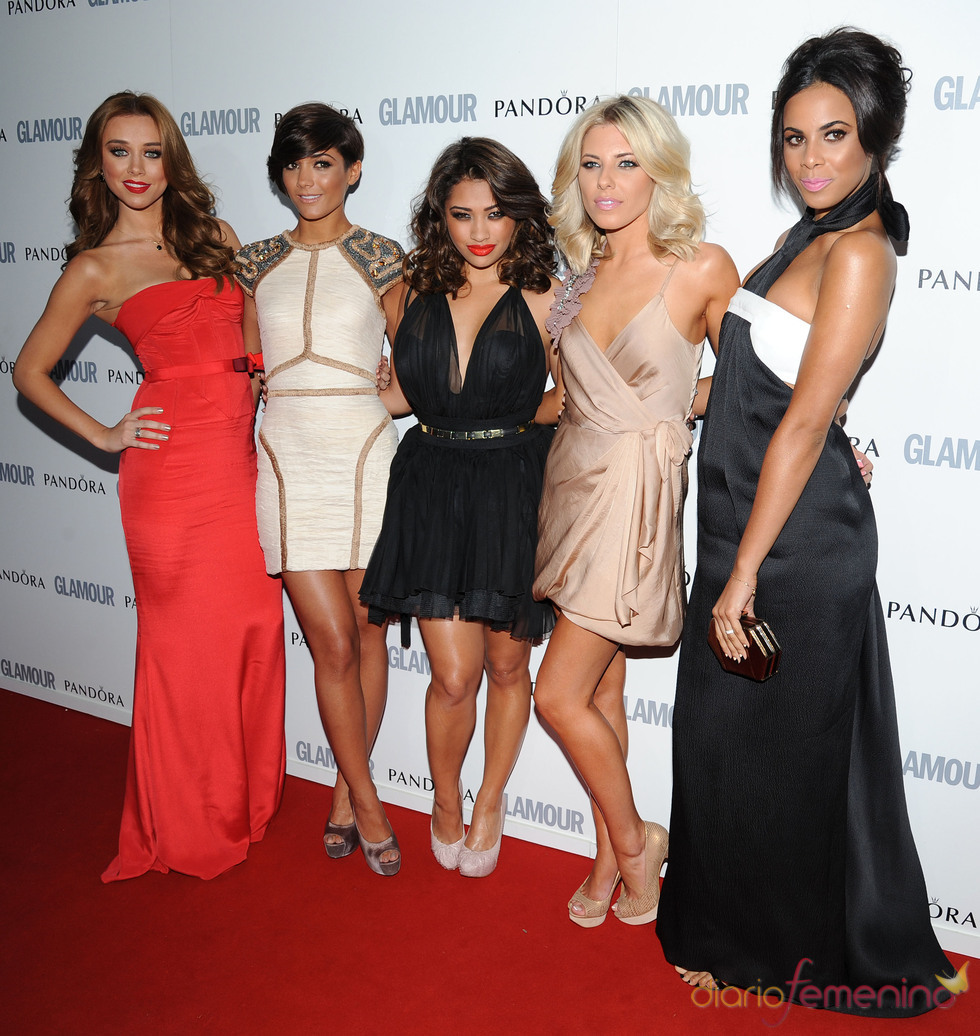 The Saturdays en los premios 'Las Mujeres del Año' 2011 de Glamour