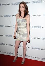 Kristen Stewart en los premios 'Las Mujeres del Año' 2011 de Glamour