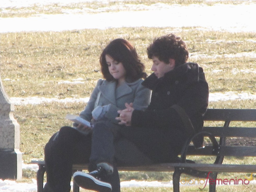 Selena Gomez y Nick Jonas en una imagen de enero de 2010