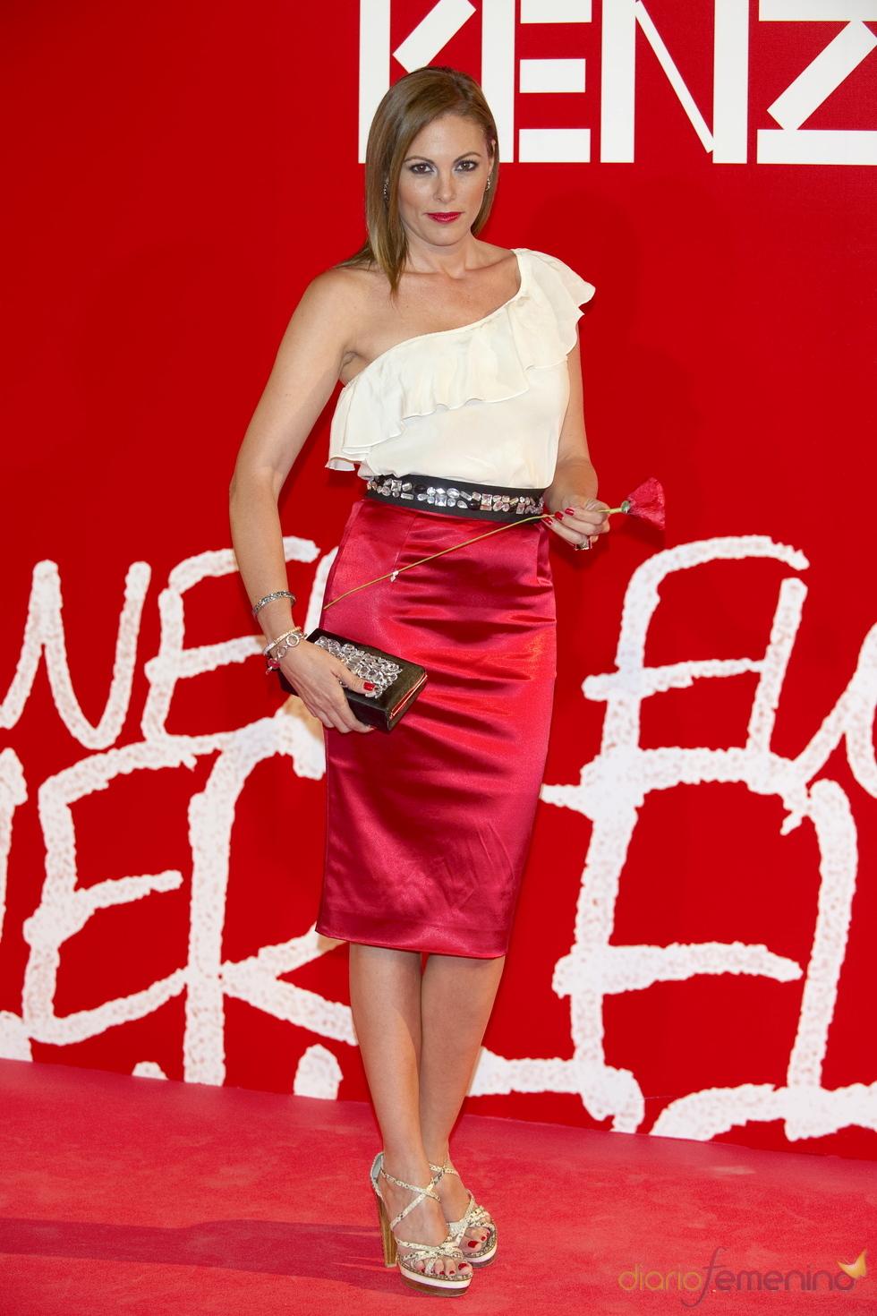 Raquel Rodríguez en la fiesta de verano Kenzo 2011