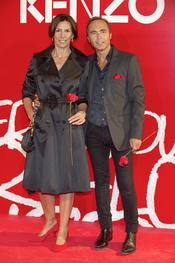 Pastora Vega y Juan Ribó en la fiesta de verano Kenzo 2011
