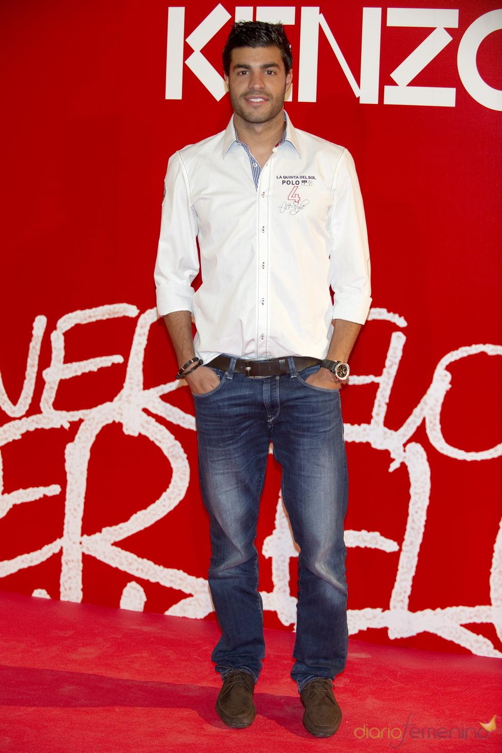 Miguel Torres en la fiesta de verano Kenzo 2011