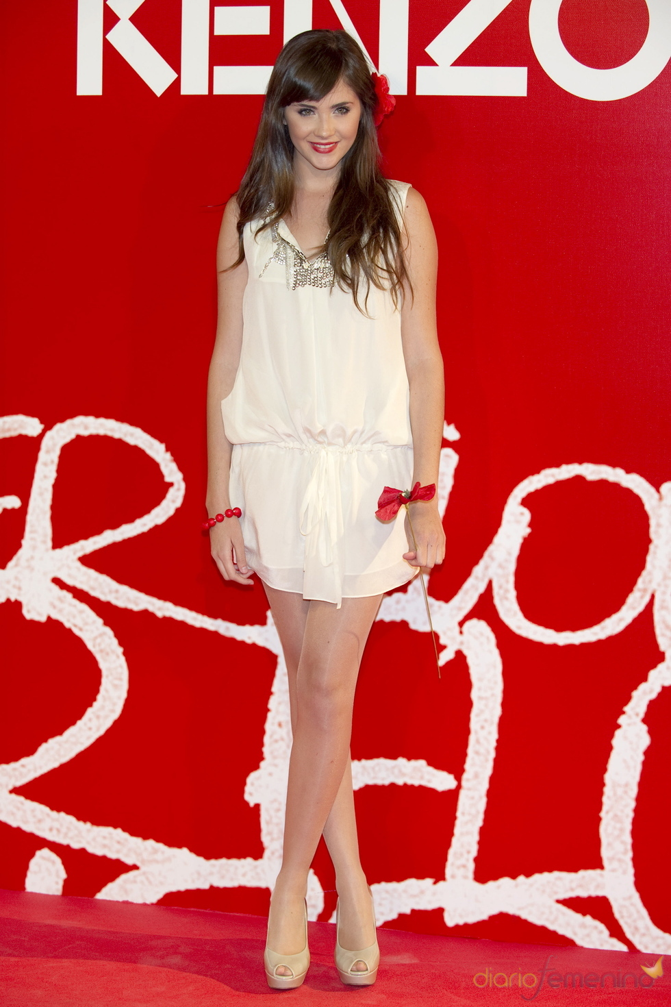 Lucía Ramos en la fiesta de verano Kenzo 2011