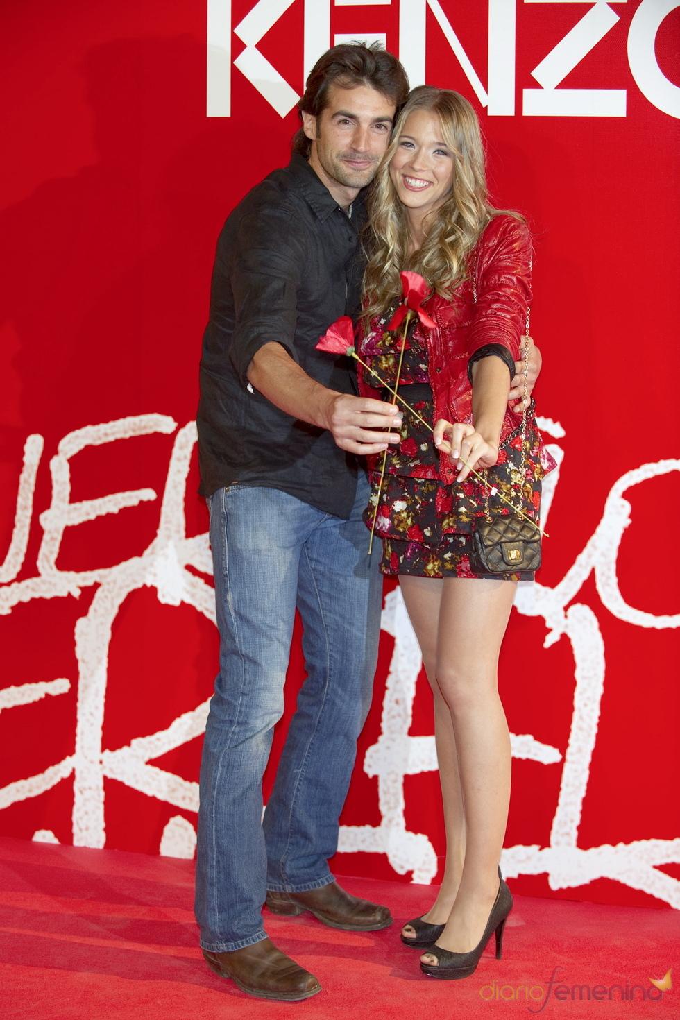 Alex Adrover y Patricia Montero en la fiesta de verano Kenzo 2011