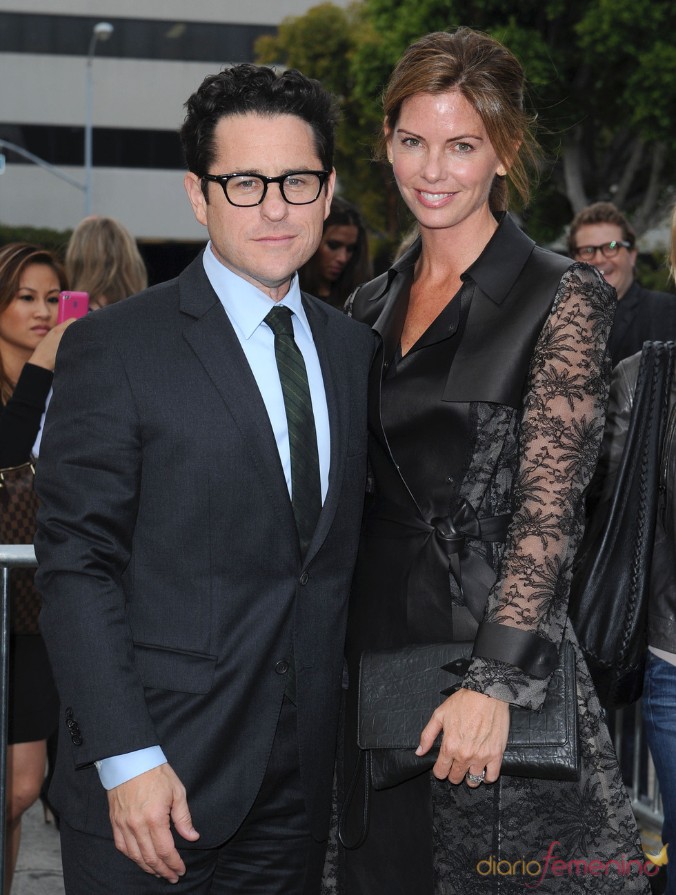 J.J. Abrams y su mujer Kate en la premiere de 'Super 8' en Los Ángeles