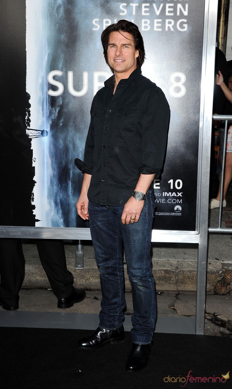 Tom Cruise en la premiere de 'Super 8' en Los Ángeles