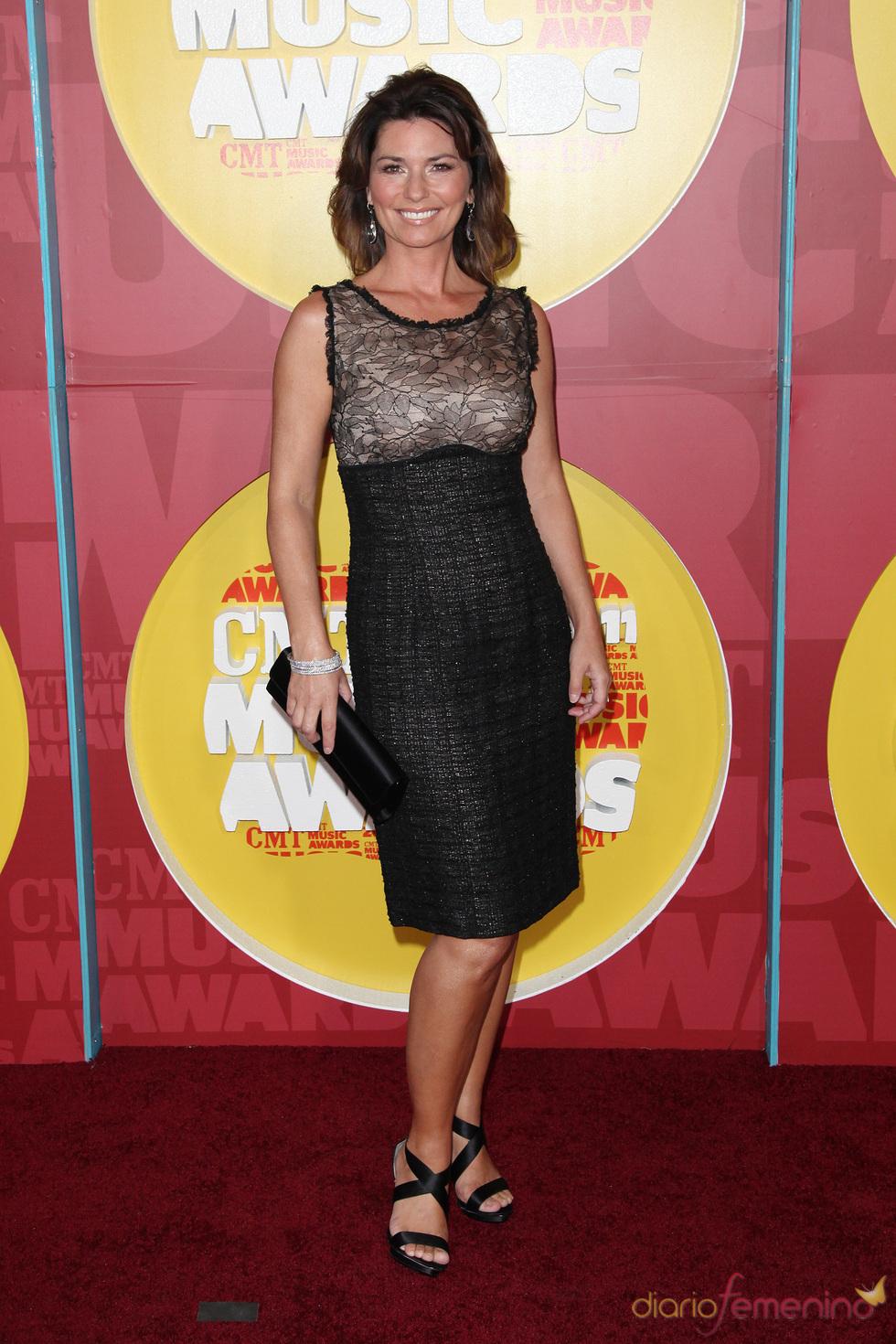 Shania Twain en los Premios CMT de Música Country 2011