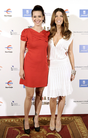 Angie Cepeda y Juana Acosta en la XI Semana de Cine Iberoamericano
