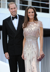 El príncipe Guillermo y Catalina acaparan las miradas en la gala benéfica ARK