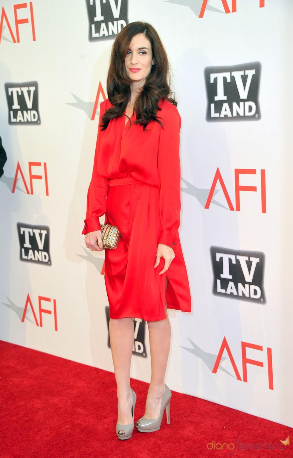 Paz Vega en los Premios AFI 2011
