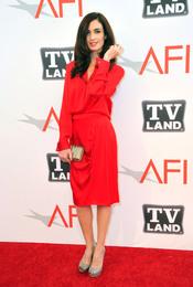 Paz Vega de rojo en los Premios AFI 2011