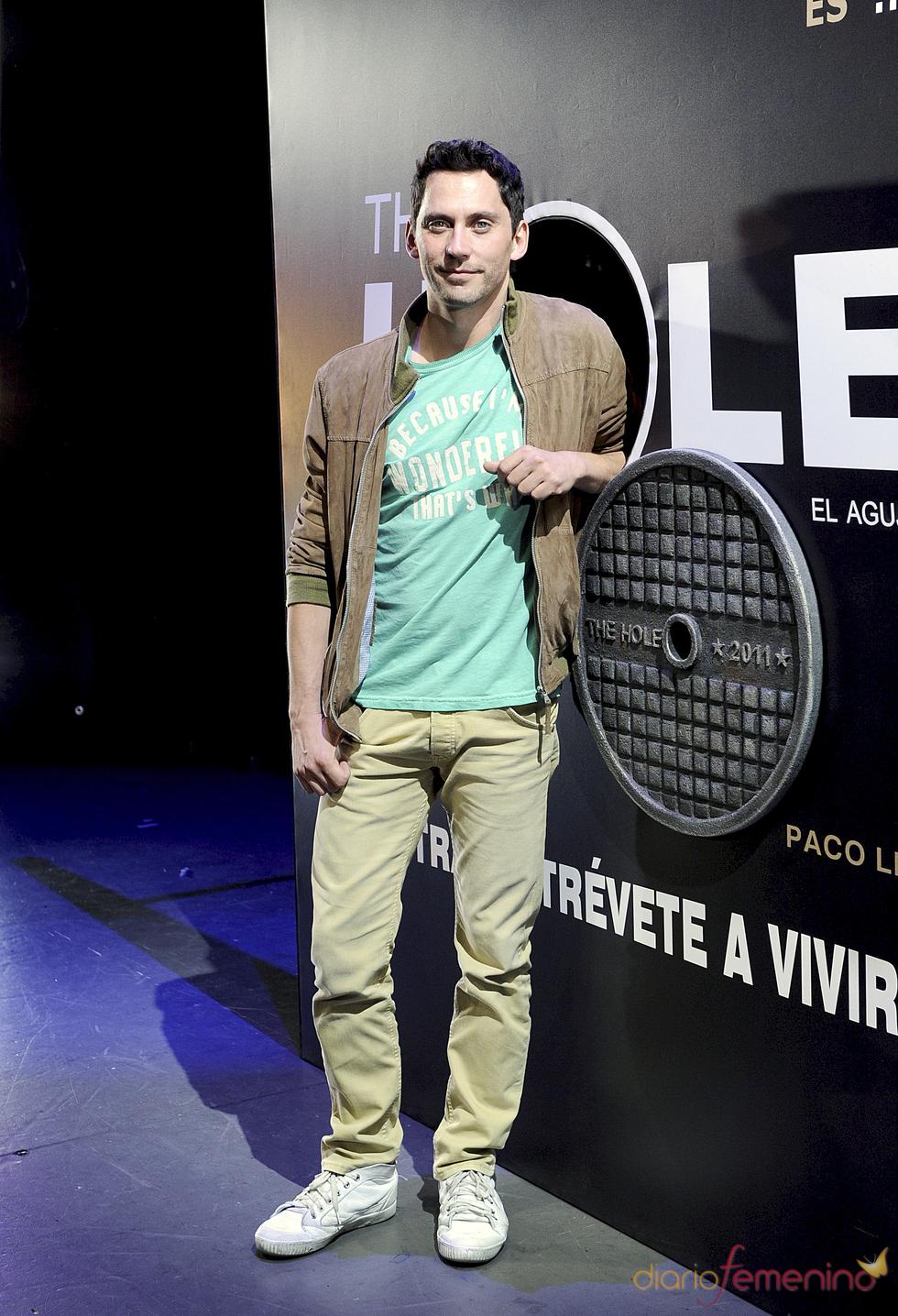 Paco León protagoniza la obra de teatro 'The Hole'