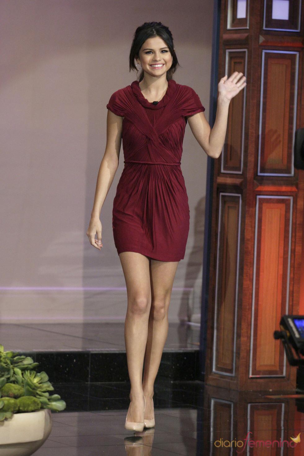 Selena Gomez promociona 'Monte Carlo' en el show de Jay Leno