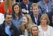 Pippa Middleton con George Percy en el Torneo Queen's de Londres