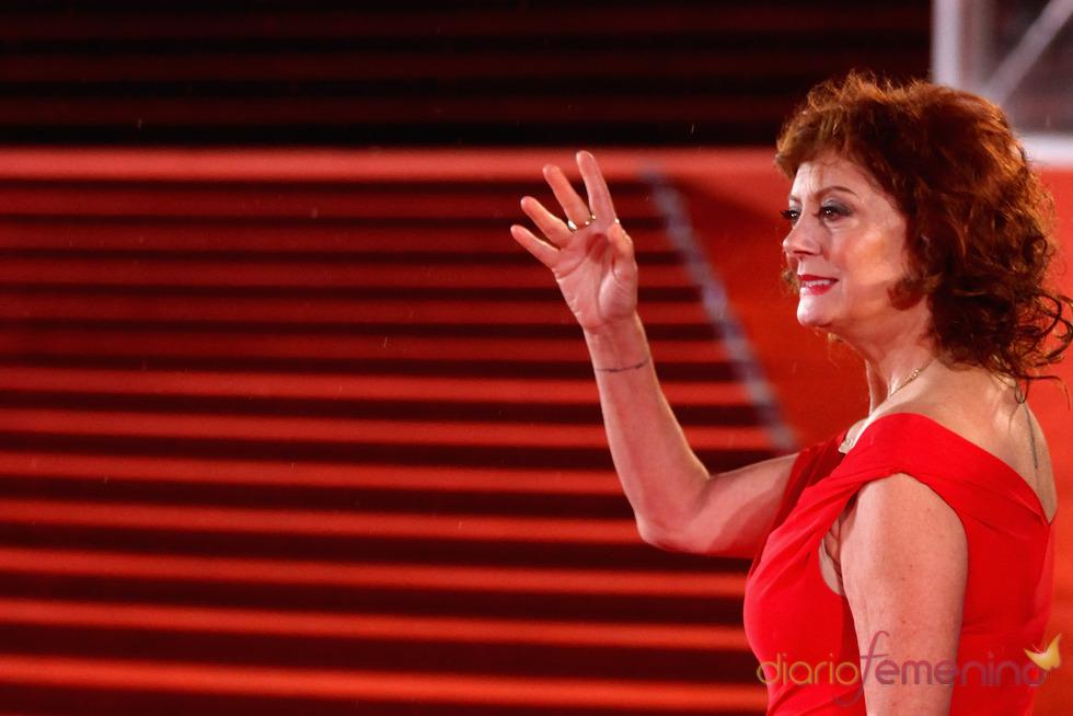 Susan Sarandon en el Festival de Cine de Shanghái