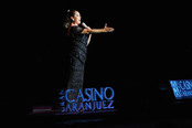Isabel Pantoja deleita al personal en su concierto del Casino de Aranjuez
