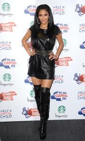 Nicole Scherzinger en el Summertime Ball 2011