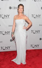 Brooke Shields en la gala de los Tony 2011