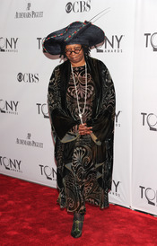 Whoopi Goldberg en la gala de los Tony 2011