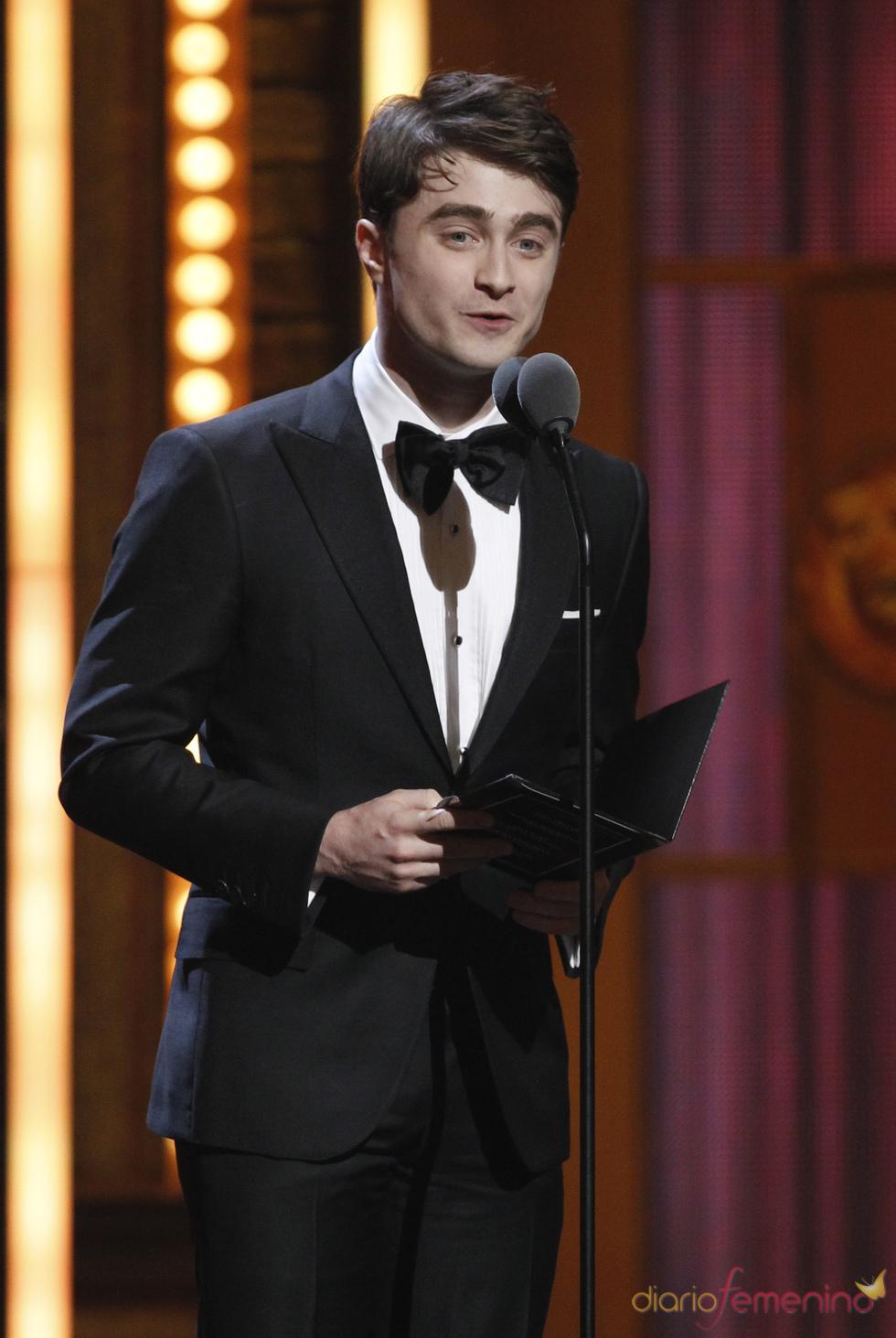 Daniel Radcliffe en la gala de los Tony 2011