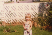 Charlene Wittstock, una niña preciosa en 1981