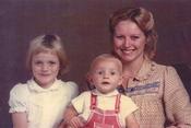 Charlene Wittstock, adorable en 1978