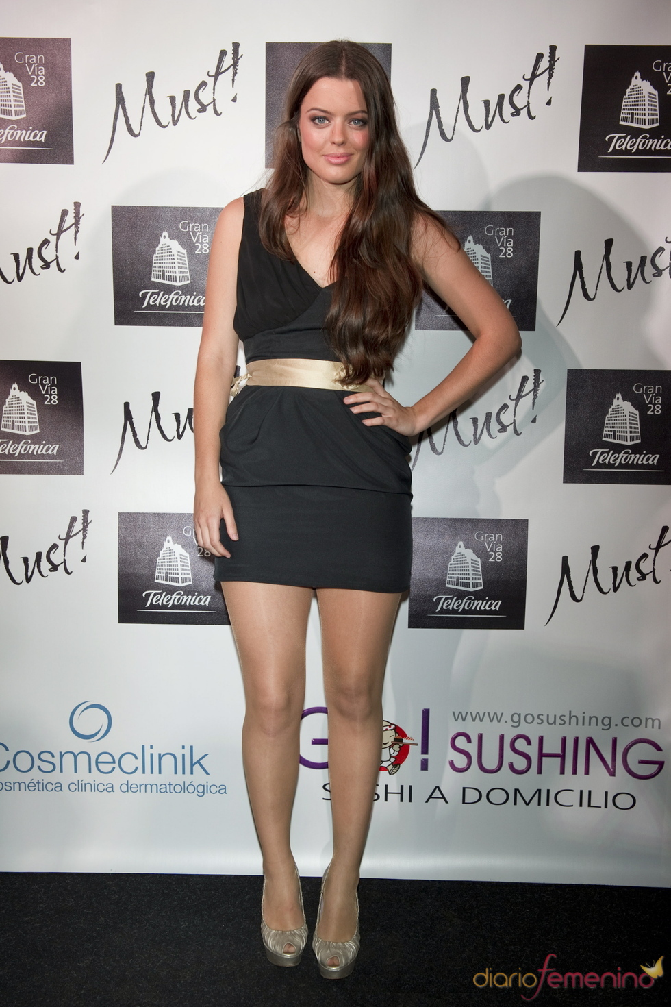 Adriana Torrebejano en la gala de lospremios Must 2011