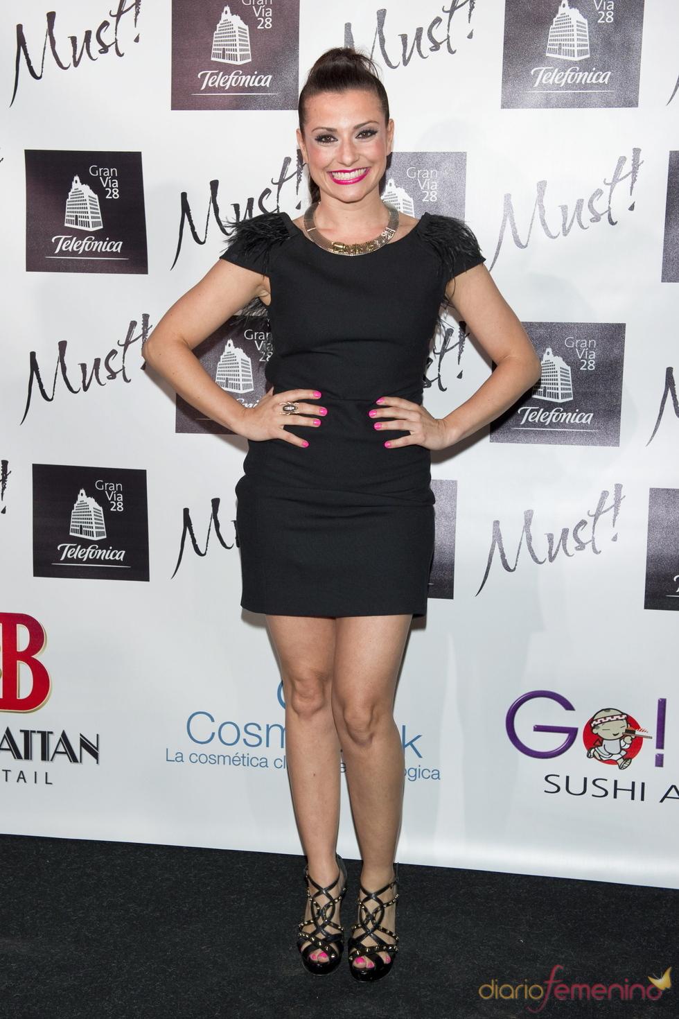 Ana del Tey en la gala  de los premios Must 2011