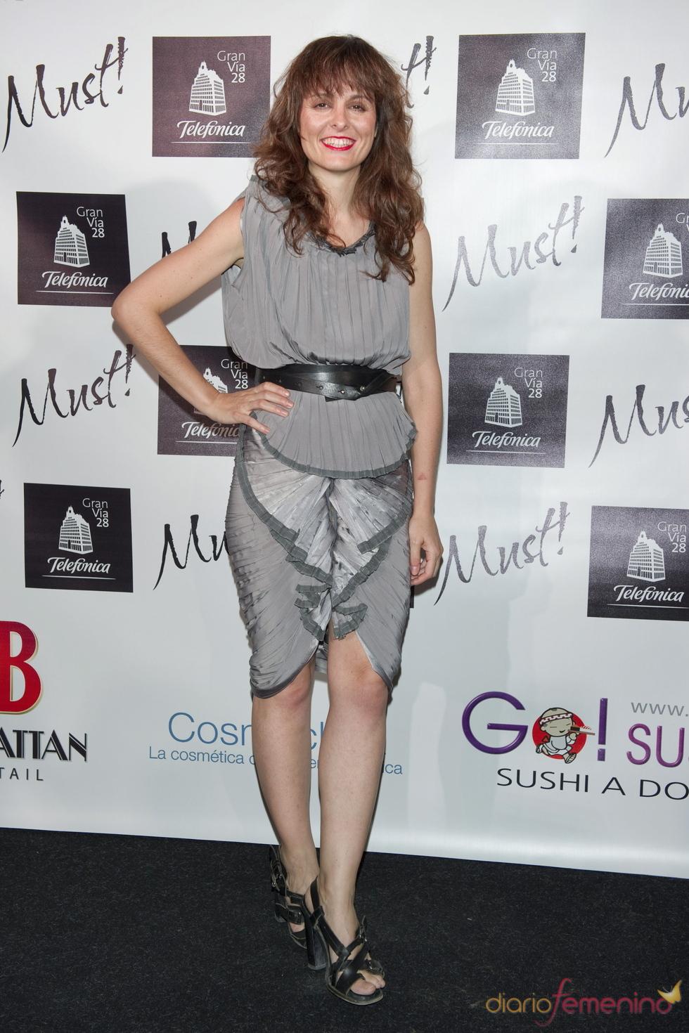 Ana Locking en la gala de los premios Must 2011